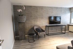 Wohnzimmer | Quartier 23 Ferienwohnung