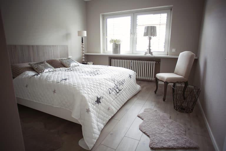 Schlafzimmer, Doppelbett | Quartier 23 Ferienwohnung